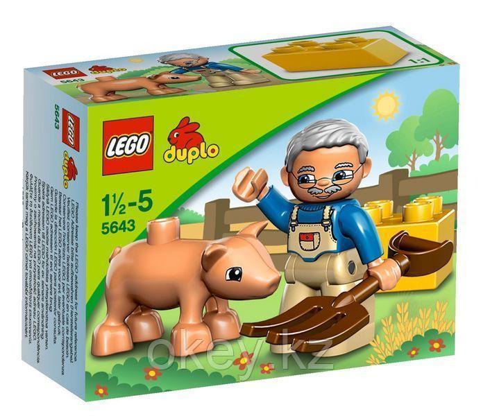 LEGO Duplo: Маленький поросёнок 5643