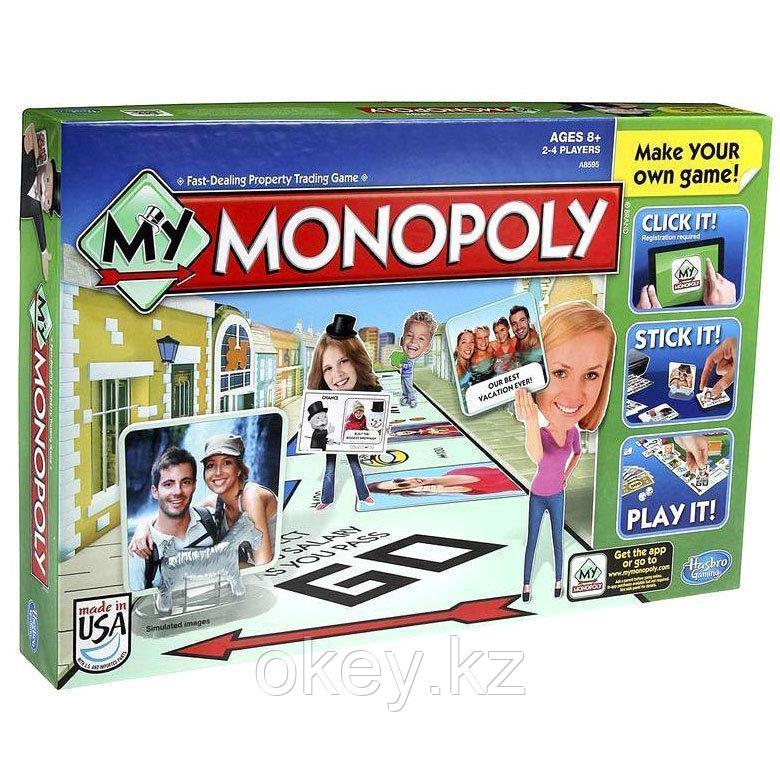 Hasbro: Настольная игра Моя Монополия A8595