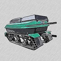 Мотобуксировщик РОСТИН БК-15