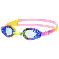 Очки для плавания юниорские AQUA, M0415 03 0 09W, цвет жёлтый