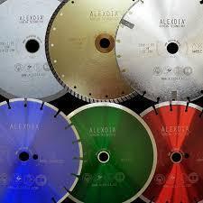 Алмазный и абразивный инструмент ALEXDIA производства Южная Корея
