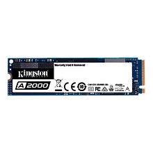 Kingston SA2000M8/500G Твердотельный накопитель SSD A2000 500Gb M.2 2280 NVMe SATA3 R2200MB/s W2000MB/s