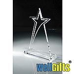 Награда стеклянная с гравировкой Звезда, фото 2