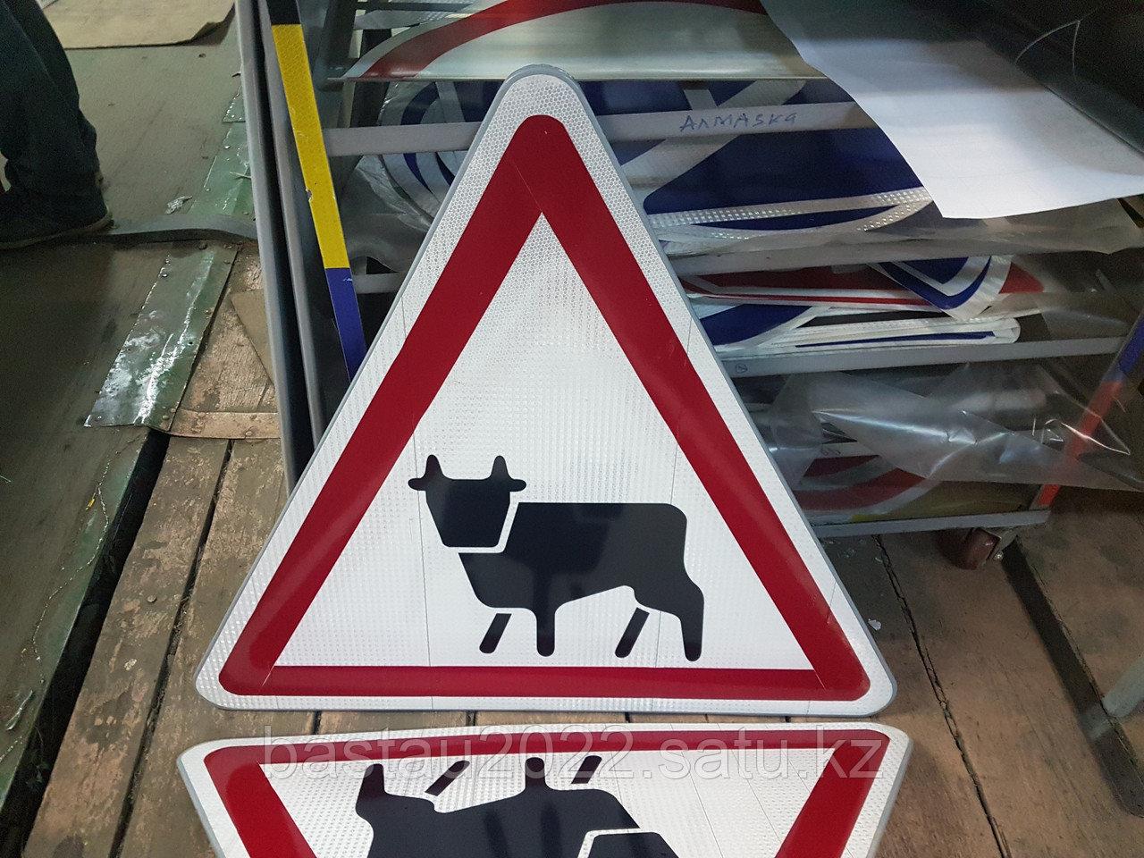 Дорожный знак треугольный