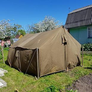 Брезентовый палатка размер 3*3