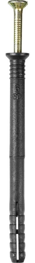 Дюбель-гвоздь полипропиленовый STAYER 80 x 6 мм, 1000 шт., с потайным бортиком (30640-06-080)