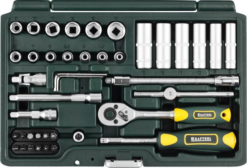 Набор автомобильного инструмента KRAFTOOL 42 шт. (27885-H42_z02)