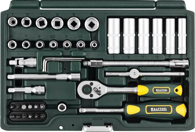 Набор автомобильного инструмента KRAFTOOL 42 шт. (27885-H42_z02), фото 2