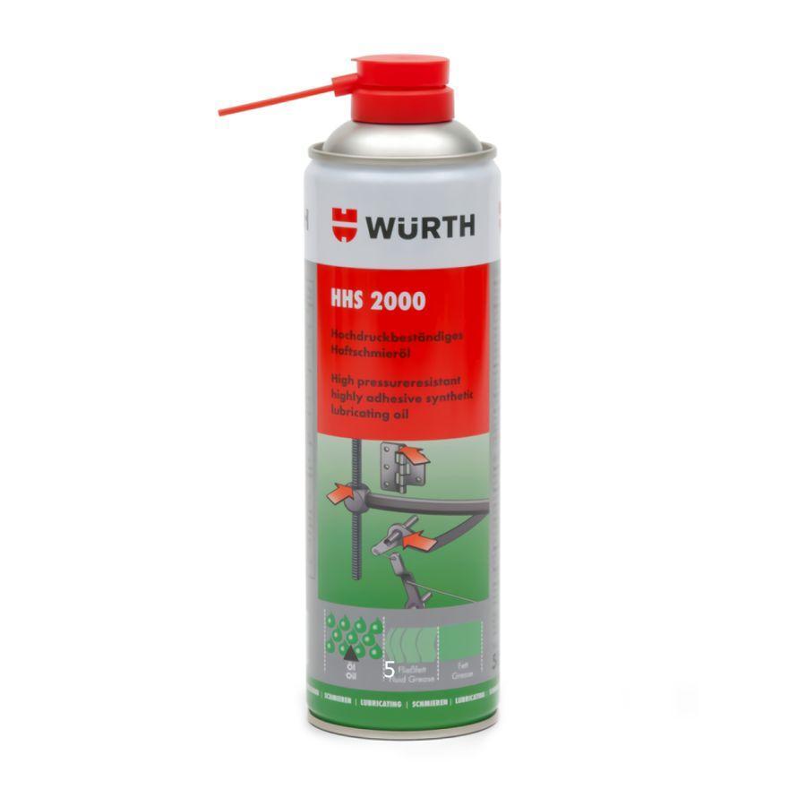 Смазка универсальная HНS 2000, аэрозоль-500 мл. DTR0000032719 Wurth