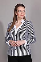 Женская осенняя большого размера блуза La Prima 0434 46р.