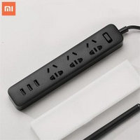 Xiaomi Mi Power Strip, удлинитель, черный оригинал. Арт 5053