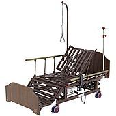 Кровать медицинская Med-Mos DB-11А (МЕ-5228Н-10) ЛДСП, венге