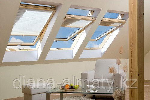 Мансардное окно 55х98 FAKRO в комплекте с окладом для металлочерепицы тел. Whats Upp. 87075705151