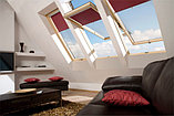 Мансардное окно FAKRO 78х118 FTS-U2 с окладом для гибкой черепицы тел. Whats Upp.+77075705151, фото 6