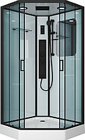 Кабина душевая Niagara NG-6901-01GD BLACK 90х90х220 см