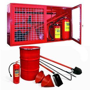 Щит пожарный ЩПО (открытый) в комплекте