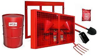 Щит пожарный укомплектованные (закрытого типа)