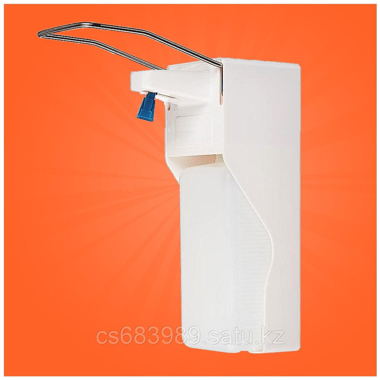 Медицинский локтевой дозатор для антисептика и жидкого мыла 1000 мл