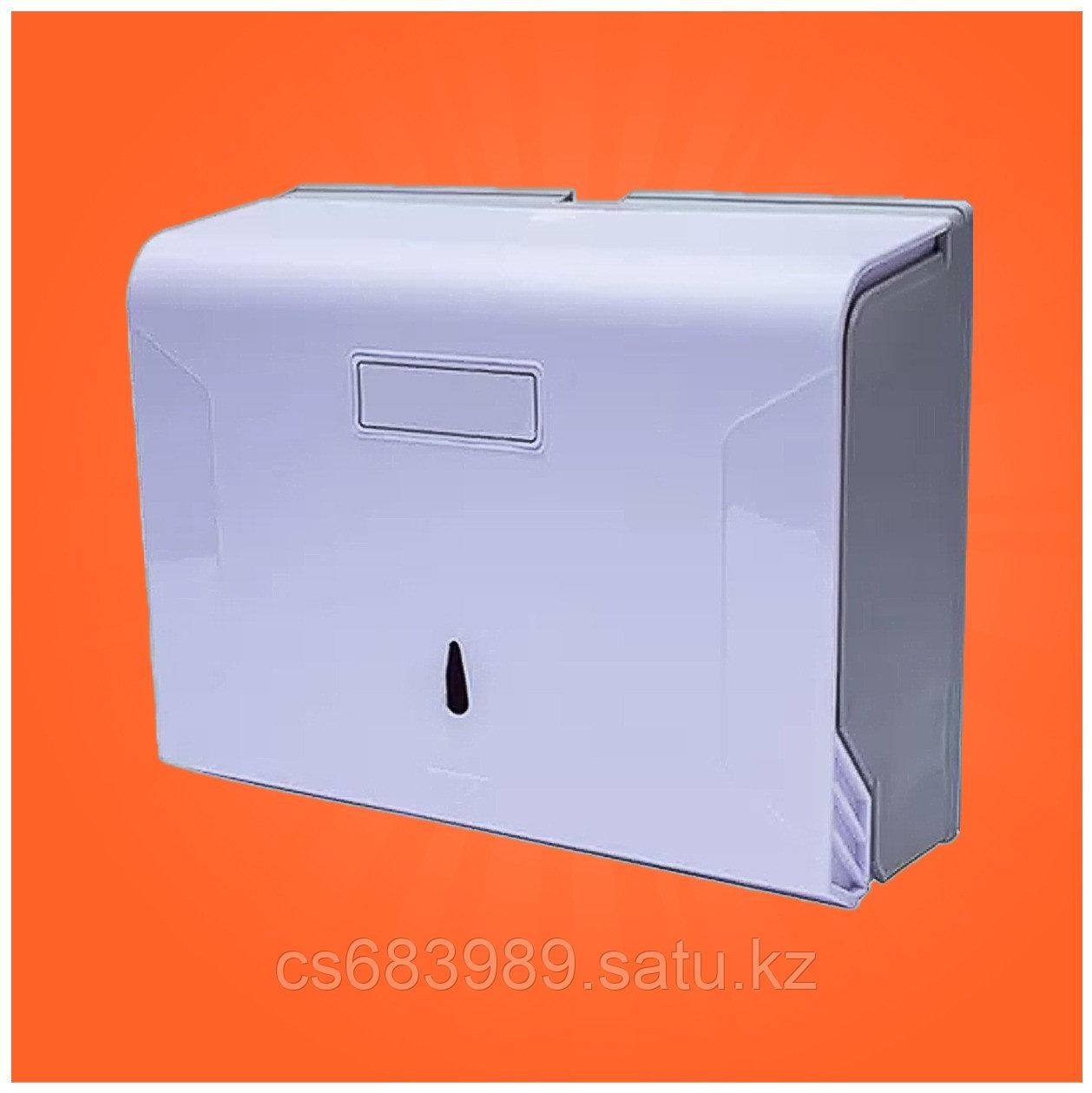 Диспенсер для бумажных полотенец Z укладки с окошком +77758242563