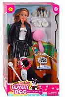 Кукла Defa с собачкой 8428