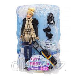 Кукла Defa  С чемоданом 8424
