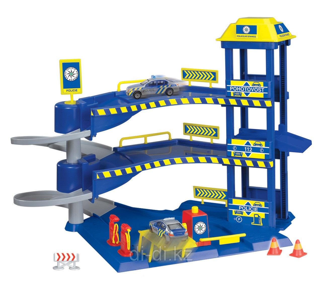 Dickie Toys Гараж с машинками 33x29.5 см 3718000