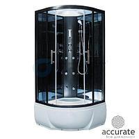 Душевая кабина ER5710TP-C24 1000*1000*2150 см, высокий поддон, тонированое стекло