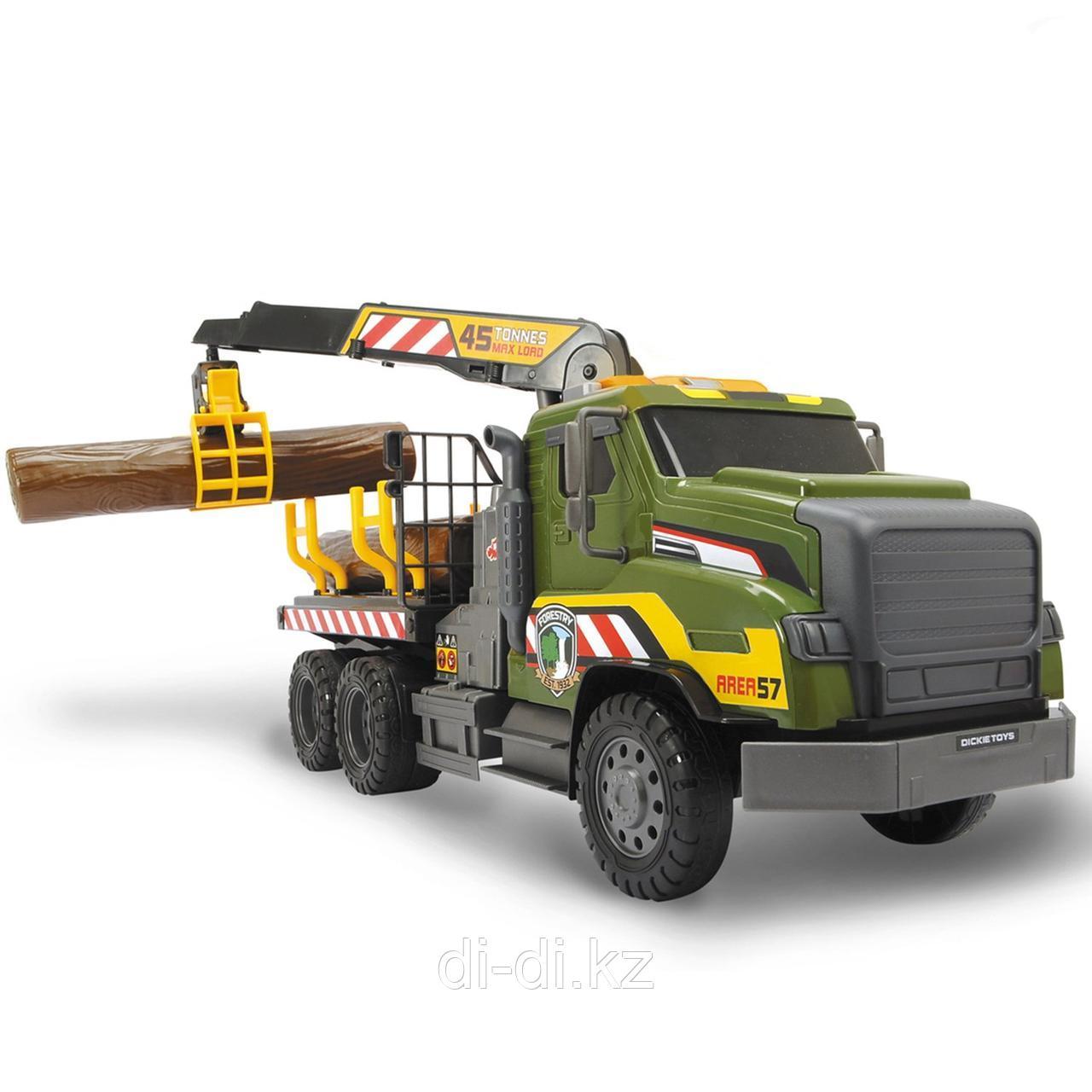 Dickie Toys Грузовик Лесовоз, 54 см свет звук 3749026