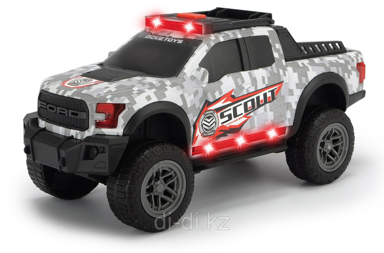 Dickie Toys Машинка Scout Ford F150 Raptor 33см свет звук 3756000