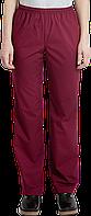 Поварские брюки женские Universal бордовый