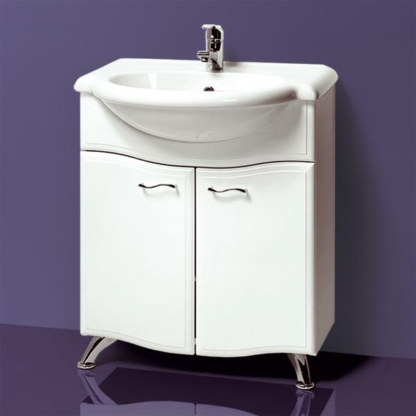 Тумба для ванной «Акваль Грант» 70 см. Умывальник Верона № 70