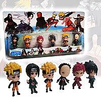 Игровой набор детских фигурок Наруто (6 штук) 6.5 см