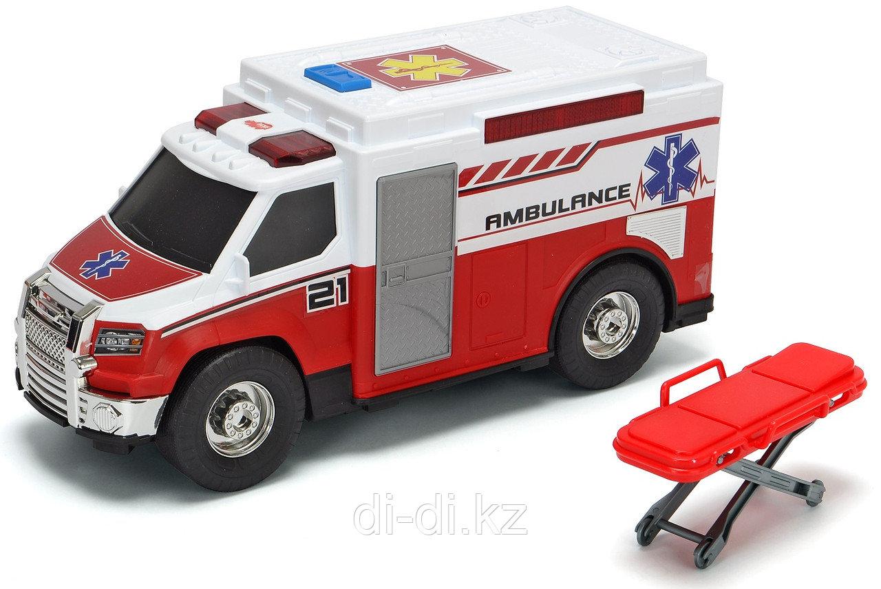 Dickie Toys Машинка скорой помощи  30 см свет звук 3306007
