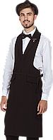 Фартук-жилет официанта унисекс Rio черный