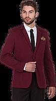 Пиджак мужской Chicago бордовый