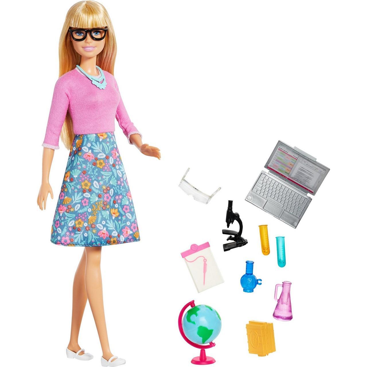 """Barbie """"Кем быть?"""" Кукла Барби Учитель с аксессуарами"""