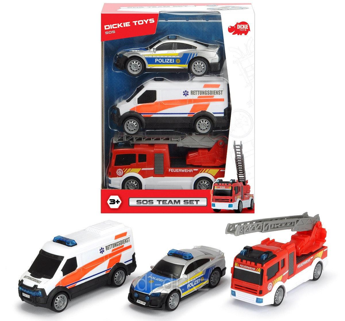 Dickie Toys Набор Команда спасения SOS 3712015