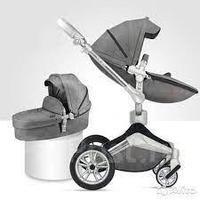 Коляска Hot Mom F23 2в1 washing-grey комбо