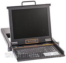 Выдвижная LCD KVM-консоль Kinan Drawer KVM-1708D