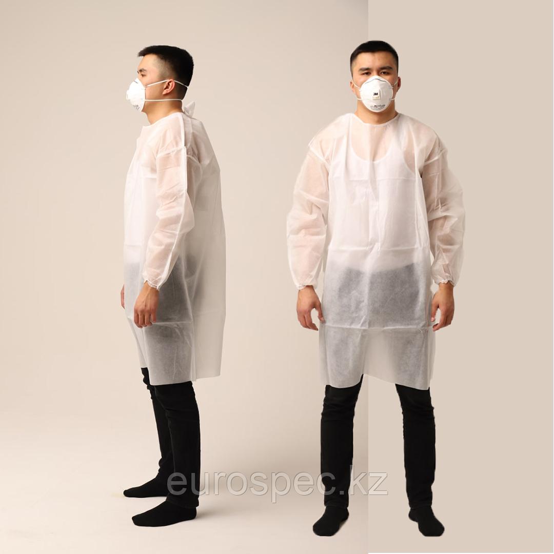 Одноразовый медицинский халат