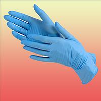 Одноразовые перчатки нитрил, латекс, винил