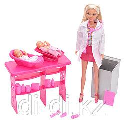 Куклы Steffi love Детский доктор (Штеффи + 2 малыша + 12 мед.предметов) 5732608