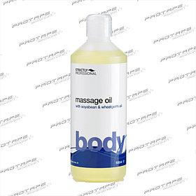 Массажное масло нейтральное с маслом ростков пшеницы и растительным протеином Belitas Ltd , Англия 500мл