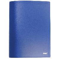 Папка Proff.Standart формат А4 с 20 файлами синяя 0,45 мм