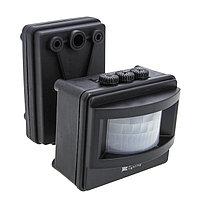 ИК датчик движения MS-01 черный на прожектор 1200Вт 120гр. до 12м IP44 EKF