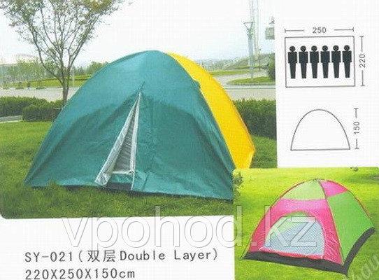 Походная палатка SY-021, 4-6 мест