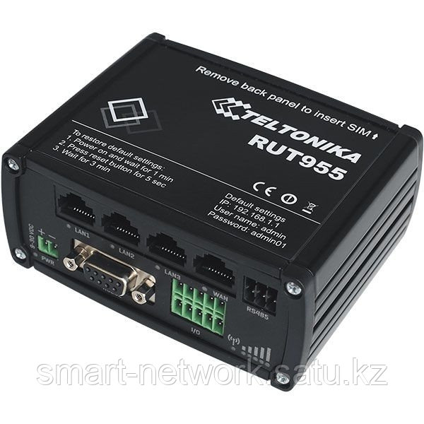 Маршрутизатор RUT955 Компактный LTE-маршрутизатор