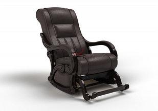 Кресло маятниковое Родос Глайдер (оптом и в розницу) цвет шоколадный