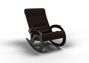 Кресло-качалка Вилла (оптом и в розницу) ткань  шоколад
