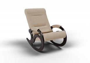 Кресло-качалка Вилла (оптом и в розницу) ткань цвет песок